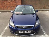 FORD FOCUS CONVERTIBLE 2.0 FULL FORD SERVICE HISTORY