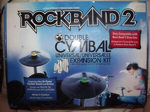 Rock Band 2 Double Cymbal Universal Expansion Kit
