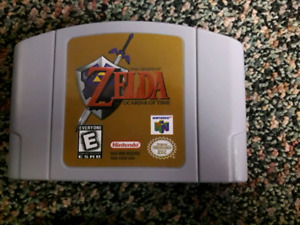 Zelda Ocarina of Time and Banjo Tooie for N64