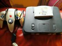 Nintendo 64 with 1 game