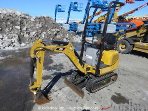 2015 Caterpillar 300.9D Mini Excavator
