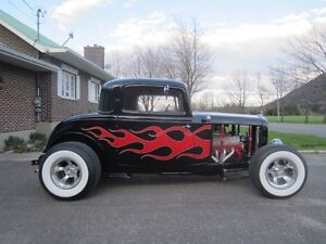 1932 real Henry Ford STEEL 3-Windows traditional Hot Rod