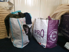 2 BAGS FULL OF CLOTHES SIZES M/8/10/12