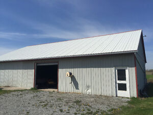 Shop/Storage/Barn/Commercial space for lease