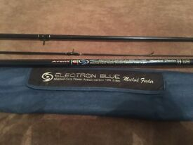 Electron Blue 12ft Carp a Method Feeder Fishing Rod and Bag