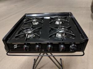 Magic Chef RV stove, 4 burner propane.