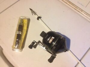 Complete zebco bow fishing set up