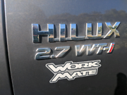 2011 TOYOTA HILUX WORKMATE Safety Bay Rockingham Area Preview