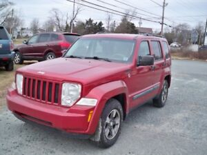 $119 BI WEEKLY OAC! 2008 Jeep Liberty , NEW TIRES! NEW MVI!