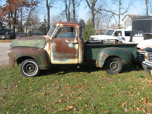 Western 1949 GMC 5 window project truck, sell trade London Ontario image 1
