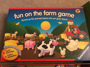 Fun on the farm board game by Ravensburger
