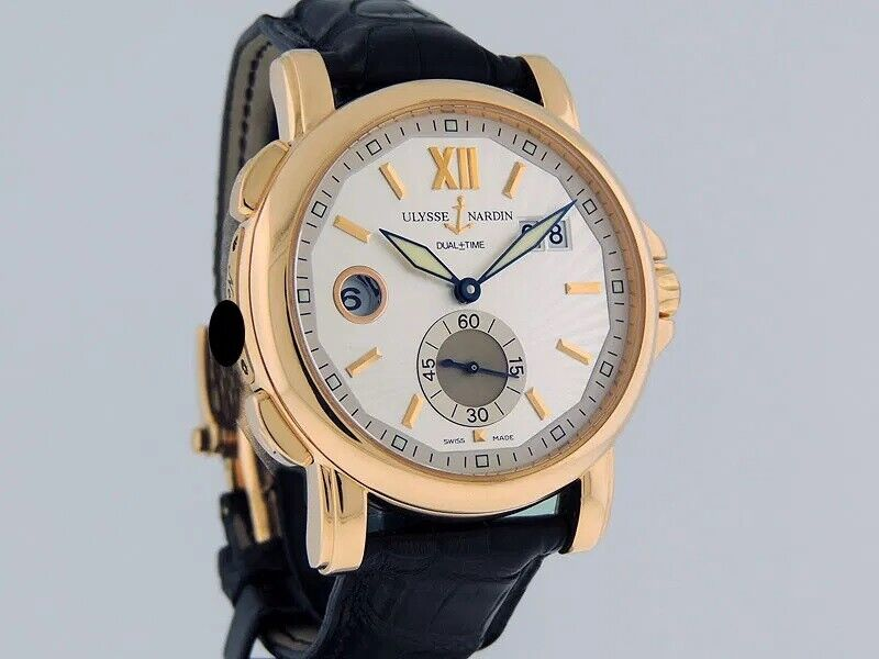 Ulysse Nardin 246-55/32 Watch Dual Time Big Date 42mm S Automatic - watch picture 1