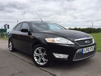 2010 10 ford mondeo 2.0 tdci titanium 6 speed aircon top spec Bluetooth history full mot hpi clear