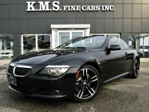 2008 BMW 6 Series 650i CABRIOLET/ M-SPORT WHEELS