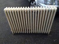 Victorian cast iron radiator