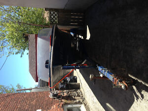 NEW PRICE Boat and trailer with fish finder