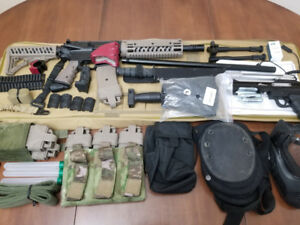 Tippmann TMC, 6 Magazines, Carrying Case, Accessories + PTXtreme