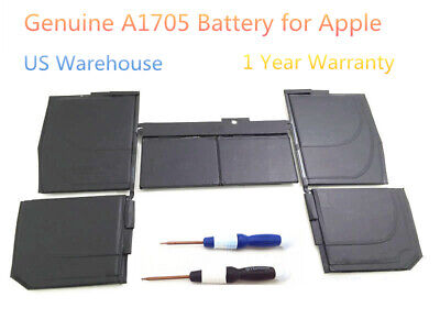 OEM Genuine A1705 Battery for MacBook Retina 12 inch A1534 2016 MLHC2LL/A NEW