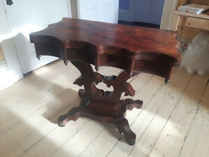 Circa 1830/40 Mahogany Folding Card Table