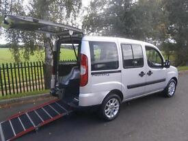 2009 Fiat Doblo 1.4 8V Dynamic 5dr WHEELCHAIR ACCESSIBLE VEHICLE 5 door Wheel...