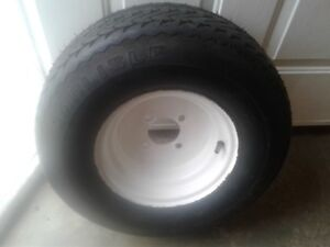 One Trailer Tire
