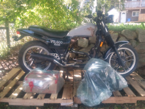 Vintage 1983 Honda Ascot VT500FT with papers.