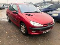 2001/51 Peugeot 206 1.4 ( dig a/c ) GLX LONG MOT EXCELLENT RUNNER