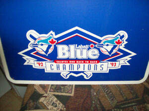 New Bluejays world series champs (92/93) chalk board in box