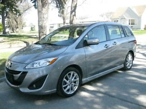 2015 Mazda 5, GT, TOP MODEL, LOW KM, LEATHER INT