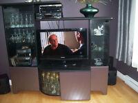 Meuble de télé avec rangement