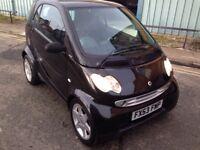 53 PLATE SMART CAR PULES 61 - SEMI - AUTO - FULL MOT - £1295!!!