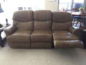 Recliner 3 seat sofa and chair