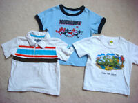 BABY BOY 12-18MTHS T-SHIRTS, PANTS (7PC LOT $10 or best offer)