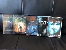 Horror Film DVD Selection