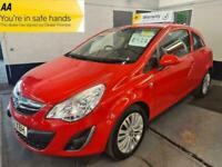 2013 Vauxhall Corsa 1.2 ENERGY AC HATCHBACK Petrol Manual