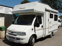 2004 Elddis Sunseeker 200 4 Berth Motorhome 2.0 Diesel (Compact)