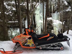 Fast sled engine redone last year