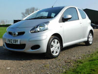 2012 TOYOTA AYGO 1.0VVT-i AYGO Ice**FSH**AIR CON**£20 TAX**£3950