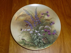 """Zartes and Winziges"" Collector Plate Kingston Kingston Area image 1"
