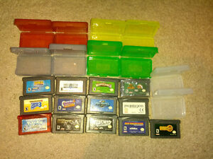 Gameboy Advance SP + 14 GBA Games & accessories