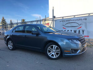 2012 FORD FUSION SEL ONLY 146760 KMS LOADED BACKUP CAMERA !