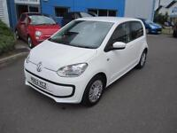 Volkswagen up! 1.0 ( 60ps ) BlueMotion Tech 2013MY Move Up 5 Door White A/C