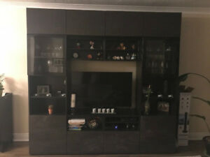 Living room storage - TV and bookcase