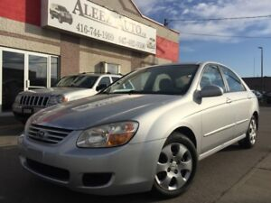 2007 Kia Spectra EX , Certified and E-tested