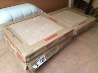7.2 m2 beige ceramic floor tiles 45x45cm
