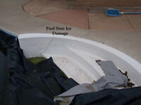 Pool Step Paint and Recoating