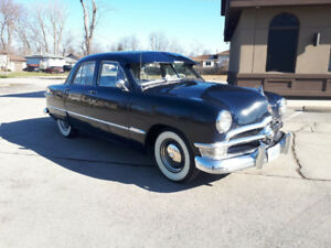 REDUCED!! 1950 FORD Custom SOLD