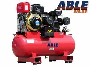 DIESEL AIR COMPRESSOR 11HP 160lt 42CFM 125PSI Coolaroo Hume Area Preview