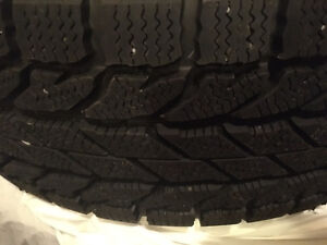 Winter Tires on Rims - Only 1500km