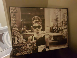 Breakfast at Tiffany's custom framed print Regina Regina Area image 1